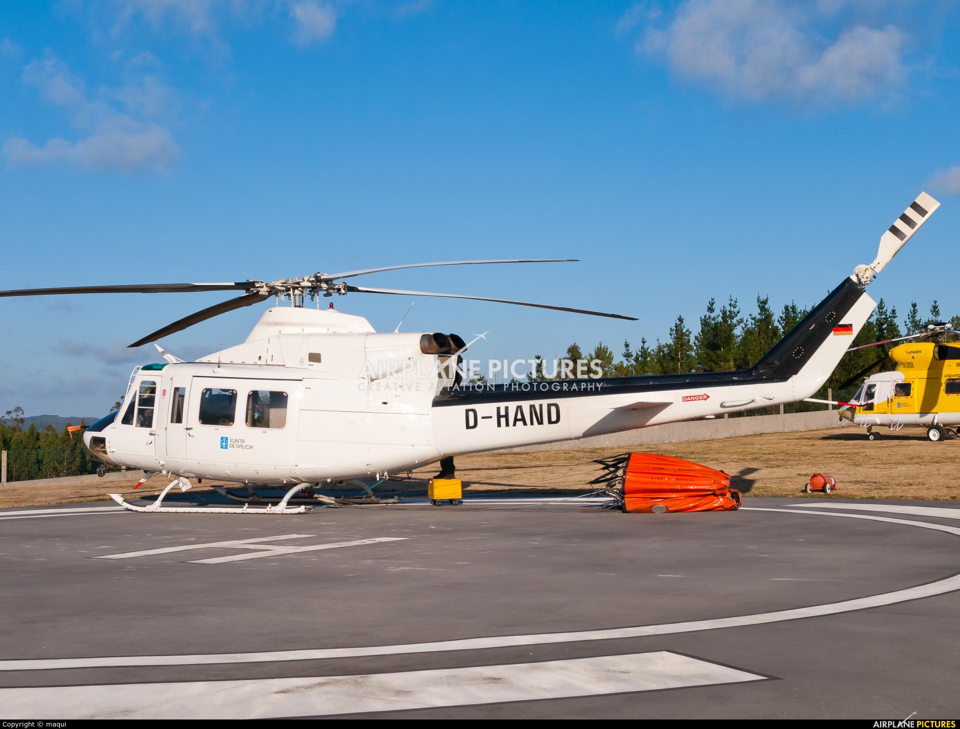 INAER D-HAND aircraft at La Coruña - Base de Lomba