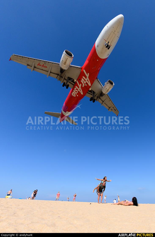 AirAsia (Thailand) HS-ABK aircraft at Phuket