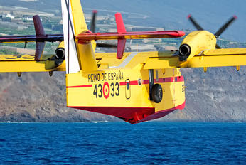 UD.14-03 - Spain - Air Force Canadair CL-415 (all marks)