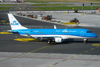 PH-EXO - KLM Cityhopper Embraer ERJ-175 (170-200)