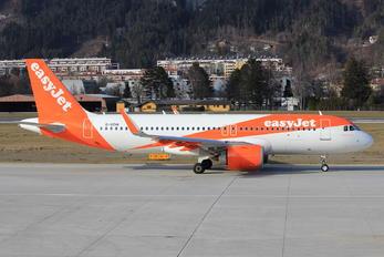 G-UZHI - easyJet Airbus A320 NEO