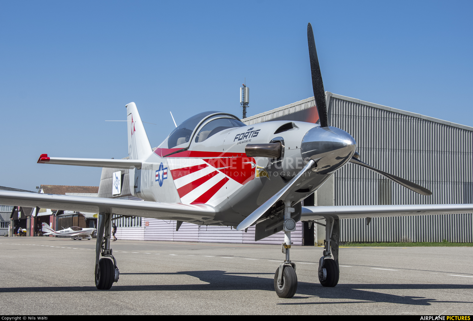 Private N3YZ aircraft at Grenchen
