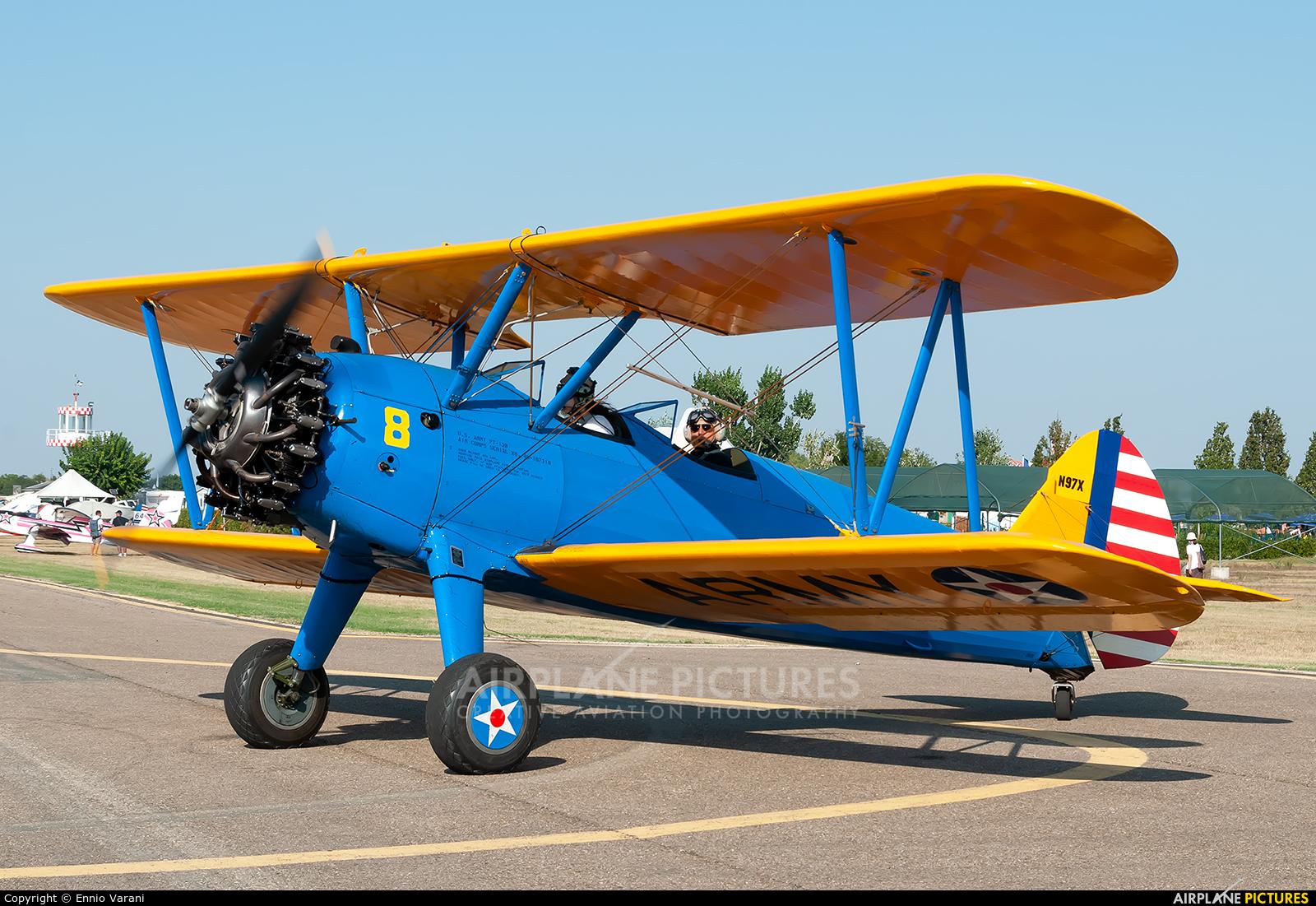Private N97X aircraft at Ozzano dell