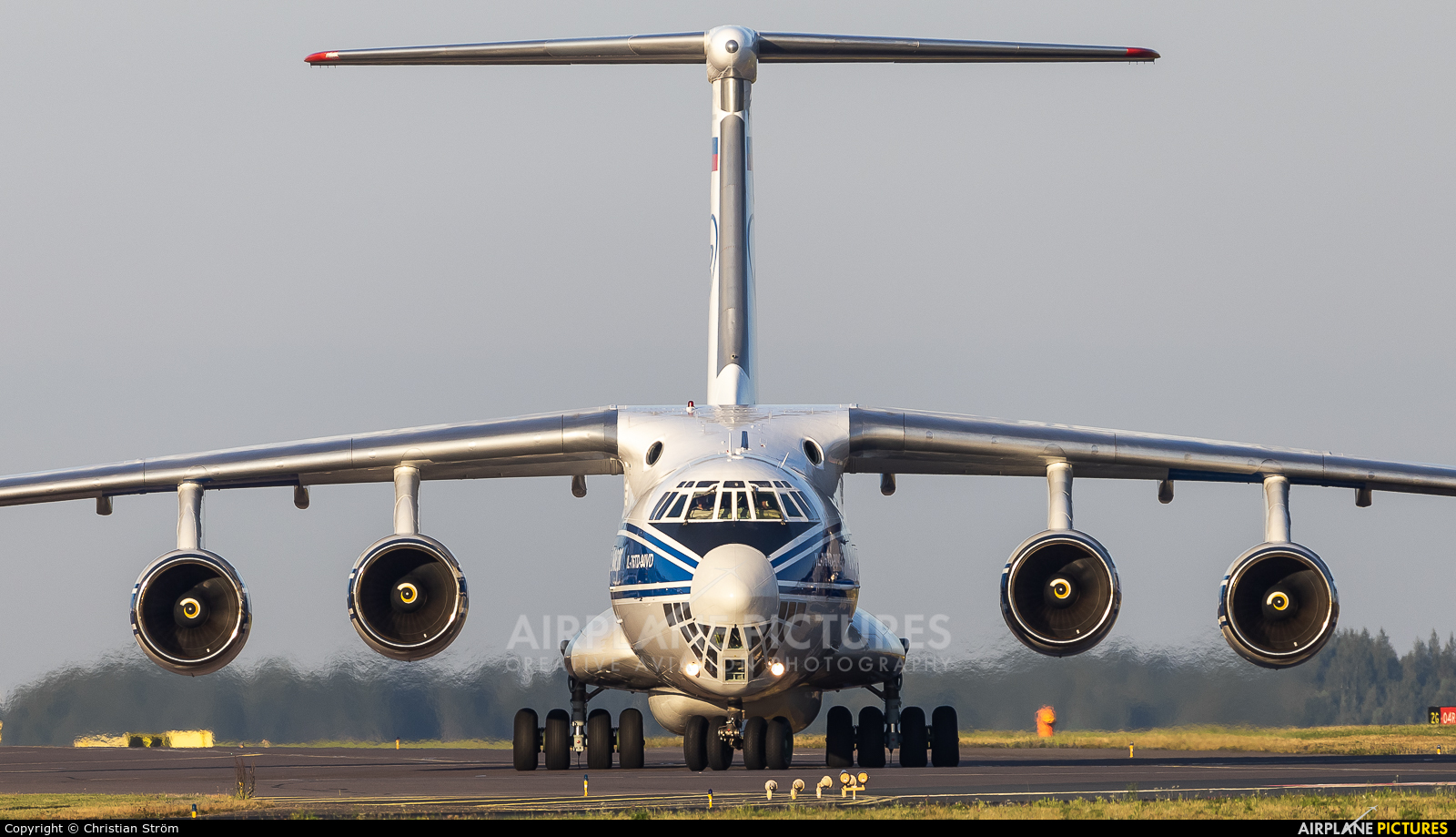 Volga Dnepr Airlines RA-76503 aircraft at Helsinki - Vantaa
