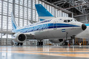 Boeing 737 of Aerolineas Argentinas wears reetro livery title=