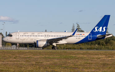 SE-ROK - SAS - Scandinavian Airlines Airbus A320 NEO