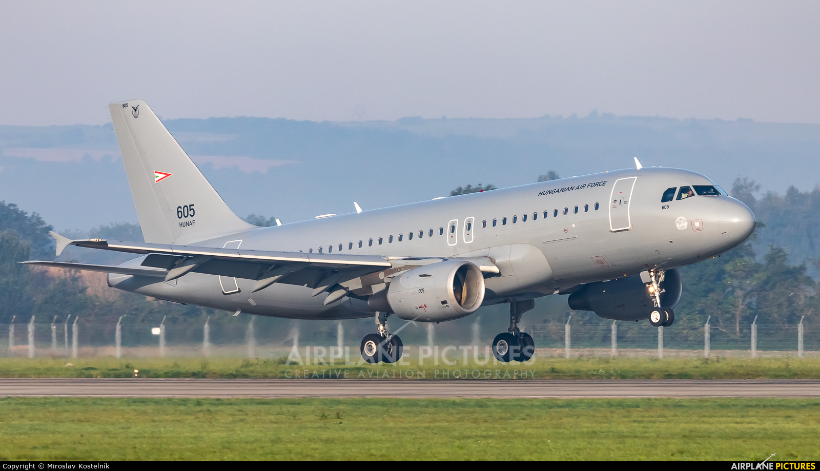Hungary - Air Force 605 aircraft at Ostrava Mošnov