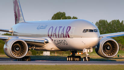 A7-BFR - Qatar Airways Cargo Boeing 777F