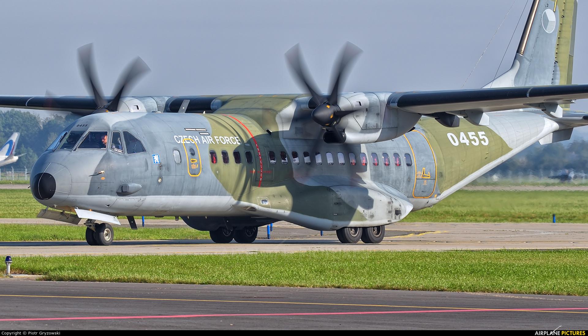 Czech - Air Force 0455 aircraft at Ostrava Mošnov