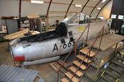 A-665 - Denmark - Air Force Republic F-84G Thunderjet aircraft