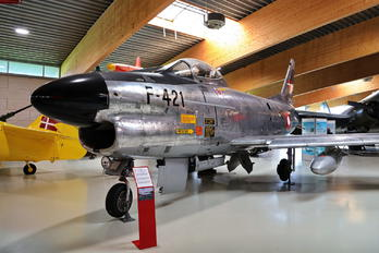 F-421 - Denmark - Air Force North American F-86 Sabre