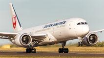 JA877J - JAL - Japan Airlines Boeing 787-9 Dreamliner aircraft