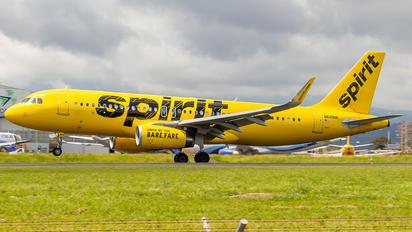 N649NK - Spirit Airlines Airbus A320