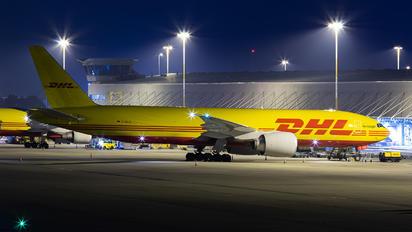 D-AALO - AeroLogic Boeing 777F