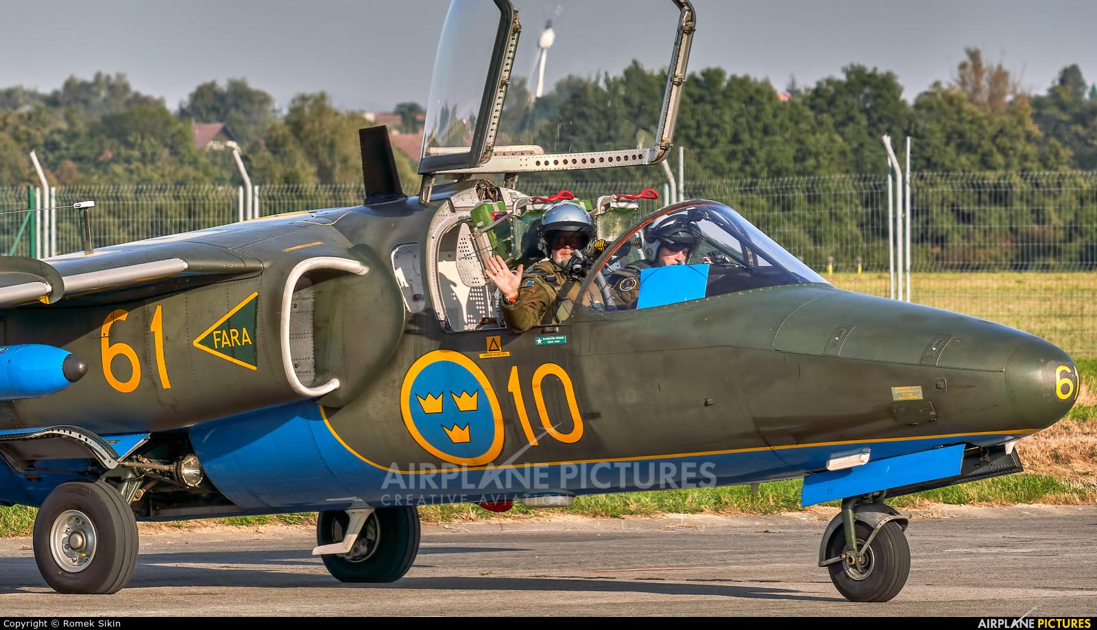 Sweden - Air Force 60061 aircraft at Ostrava Mošnov