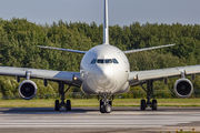 Rare visit of HiFly A340 to Vilnius title=