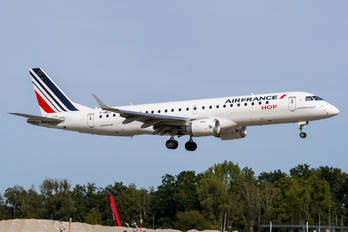 F-HBLL - Air France - Hop! Embraer ERJ-190 (190-100)