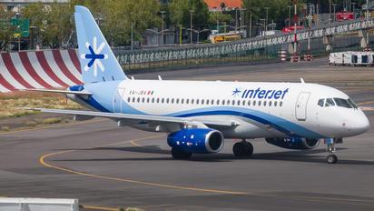 XA-JBA - Interjet Sukhoi Superjet 100