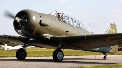 SE-FUD - Swedish Air Force Historic Flight North American Harvard/Texan (AT-6, 16, SNJ series)