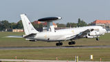 Training of NATO Boeing E-3 Sentry at Poznań Airport