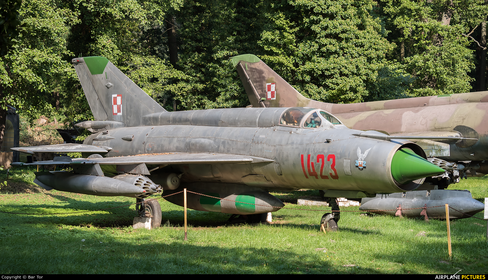Poland - Air Force 1423 aircraft at Drzonów - Lubuskie Military Museum