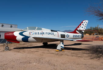 52-6563 - USA - Air Force : Thunderbirds Republic F-84F Thunderstreak