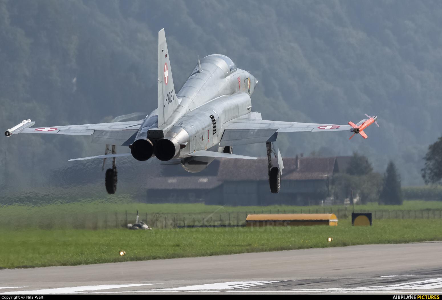 Switzerland - Air Force J-3093 aircraft at Meiringen