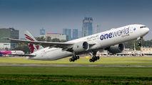 A7-BAB - Qatar Airways Boeing 777-300ER aircraft