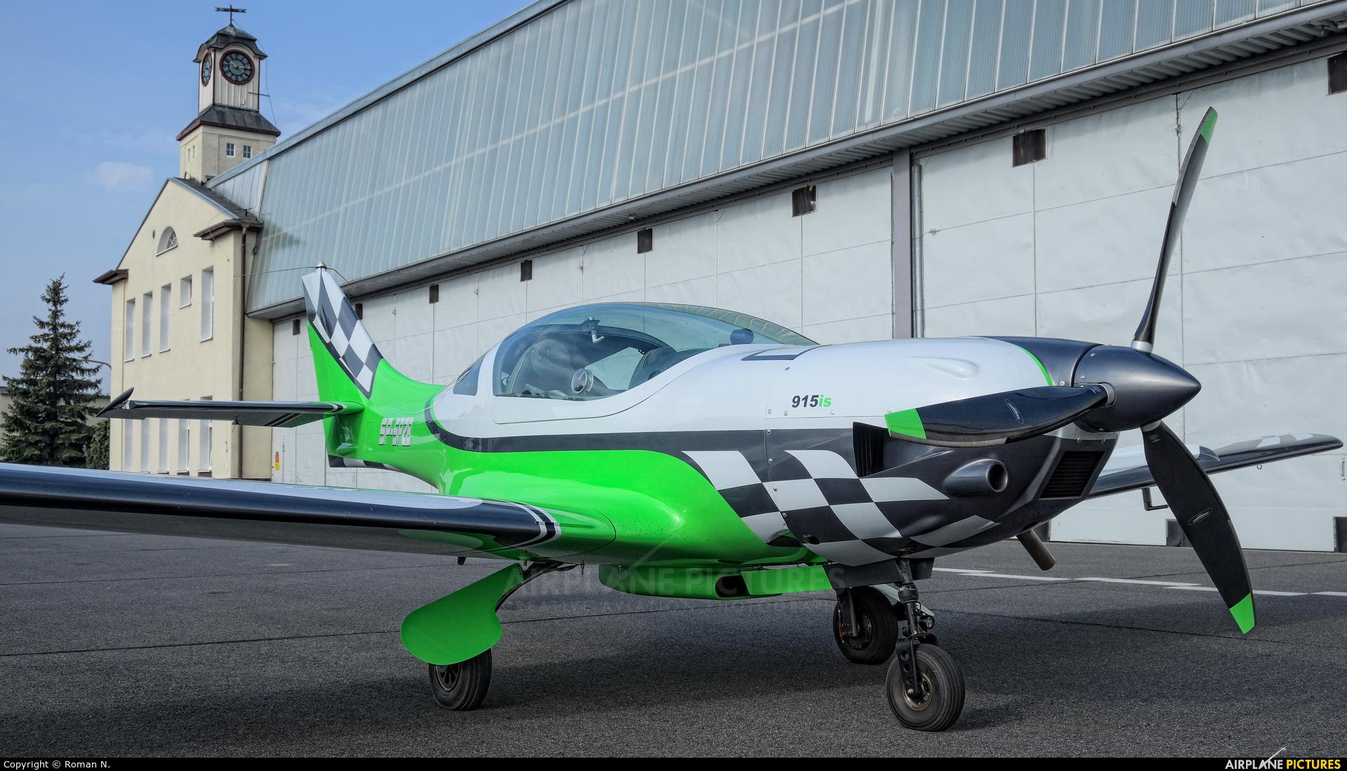 Private SP-SPZB aircraft at Bydgoszcz - Szwederowo