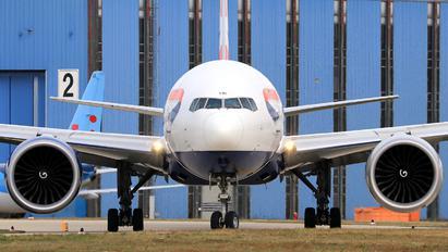 G-STBL - British Airways Boeing 777-300ER