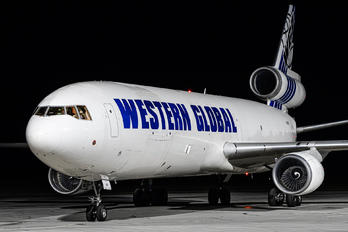 N412SN - Western Global Airlines McDonnell Douglas MD-11F