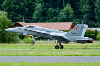 J-5026 - Switzerland - Air Force McDonnell Douglas F-18C Hornet