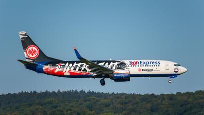 TC-SPC - SunExpress Boeing 737-8AS