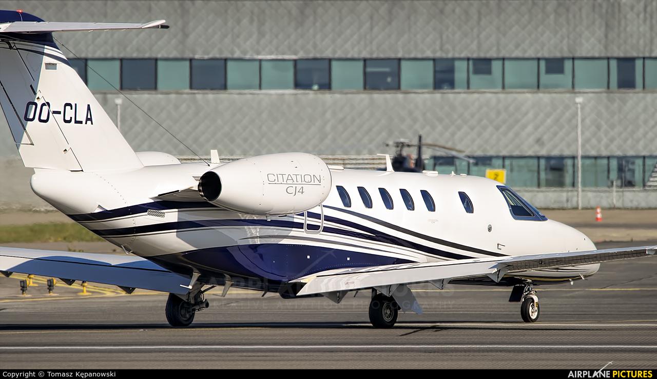 Luxaviation OO-CLA aircraft at Rzeszów-Jasionka