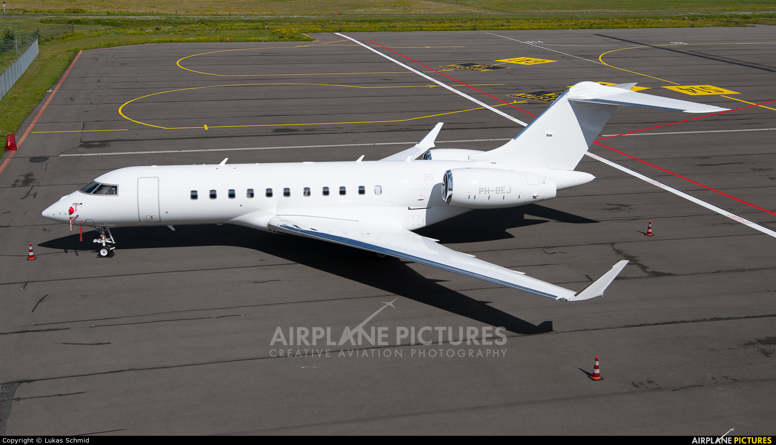 Private PH-BEJ aircraft at Eindhoven
