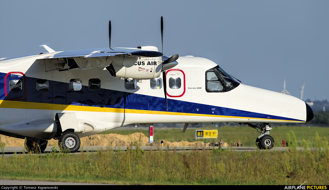 Arcus Air D-CAAL aircraft at Rzeszów-Jasionka