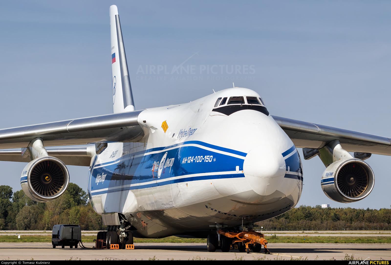 Volga Dnepr Airlines RA-82081 aircraft at Leipzig - Halle