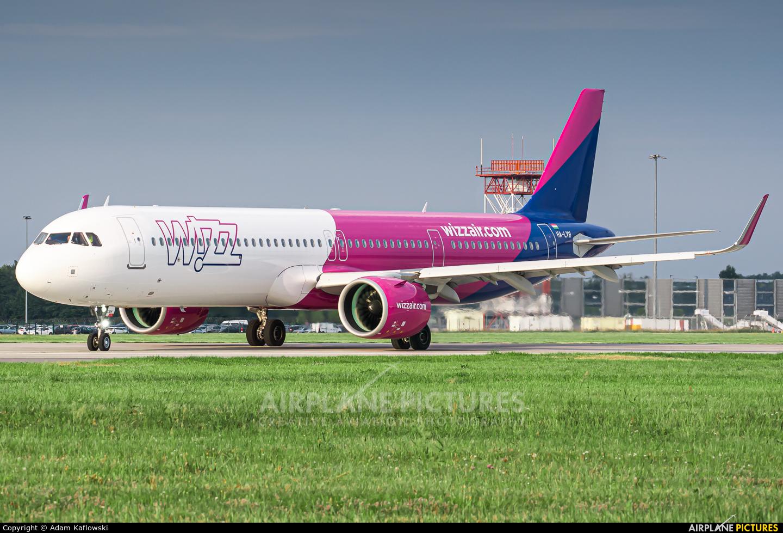 Wizz Air HA-LVH aircraft at Wrocław - Copernicus