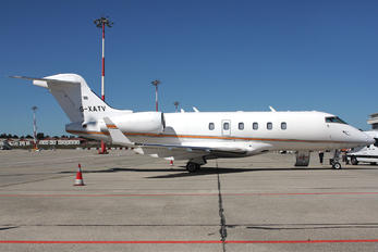 G-XATV - Private Bombardier Bombardier Challenger 300 (BD-100-1A10)