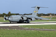 US Air Force Boeing C-17 at Malta Airport title=