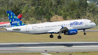 N655JB - JetBlue Airways Airbus A320