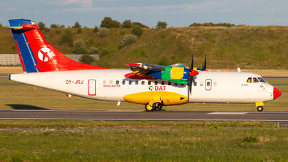 OY-JRJ - Danish Air Transport ATR 42 (all models)