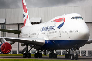 G-CIVW - British Airways Boeing 747-400