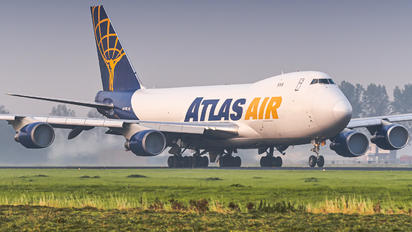 N477MC - Atlas Air Boeing 747-400F, ERF