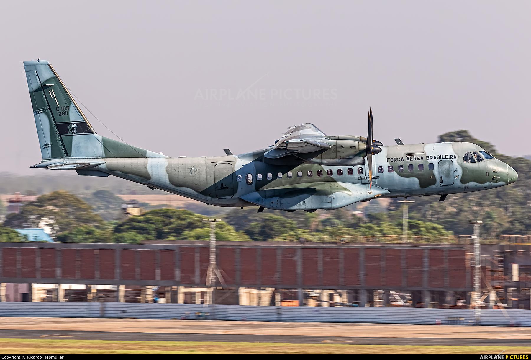 Brazil - Air Force 2811 aircraft at Campo Grande