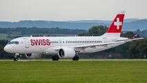 HB-JCG - Swiss Bombardier CS300 aircraft