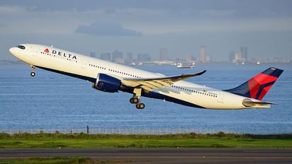 N405DX - Delta Air Lines Airbus A330-900