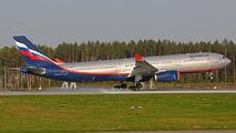 Aeroflot Airbus A330 visited Minsk title=