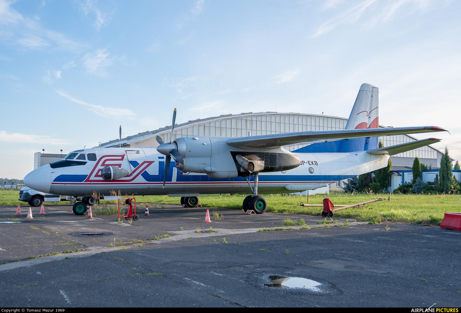 Exin SP-EKB aircraft at Katowice - Pyrzowice