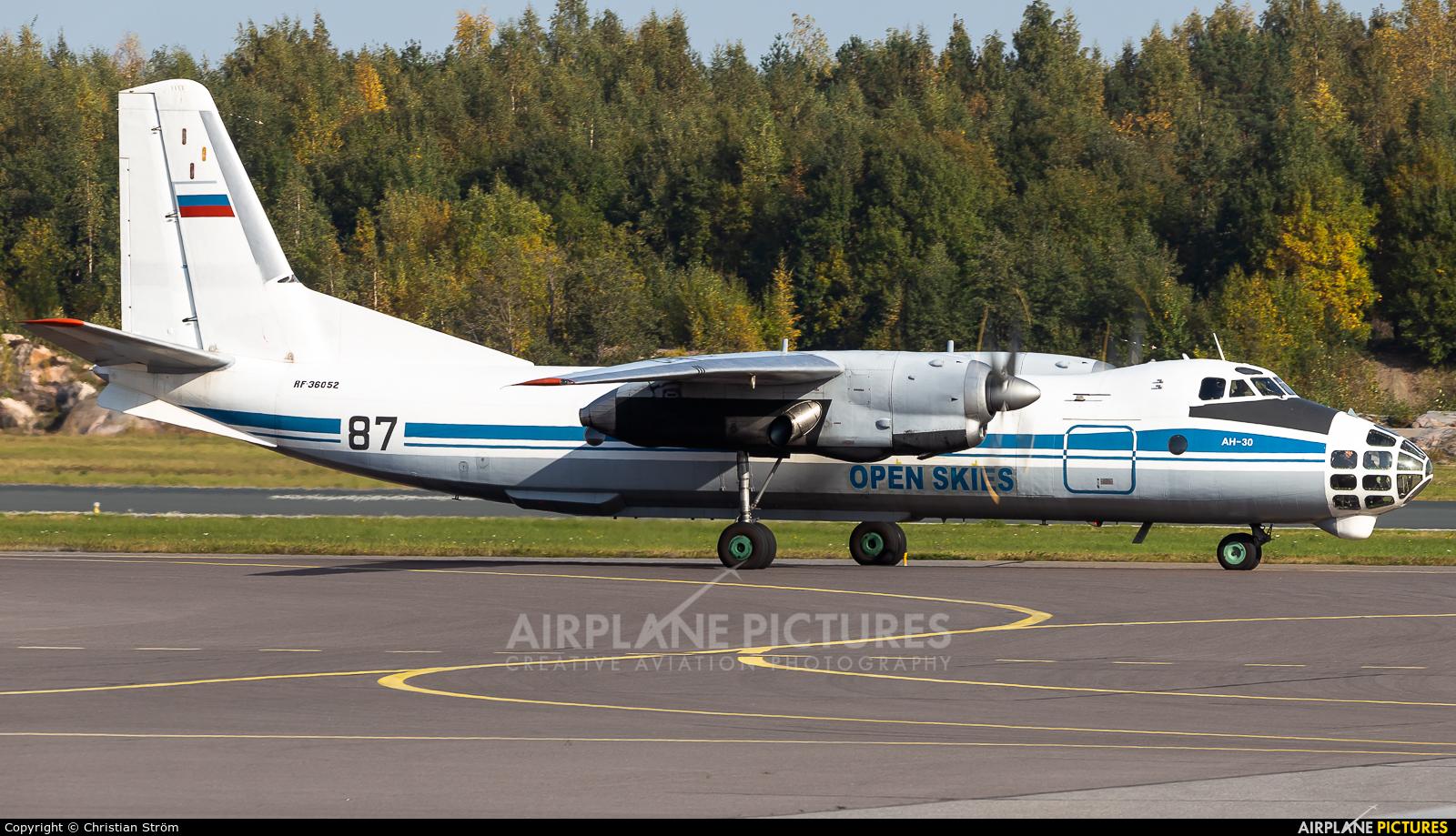 Russia - Air Force RF-36052 aircraft at Helsinki - Vantaa